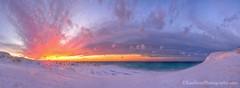 Lake Michigan ... sunset embrace (Ken Scott) Tags: winter sunset panorama usa snow michigan january blow lakemichigan greatlakes freshwater voted leelanau 2016 45thparallel manitouislands fhdr sleepingbearpoint sbdnl sleepingbeardunenationallakeshore mostbeautifulplaceinamerica