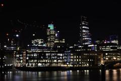 London Photowalk Jan 2016 (Sonyman45) Tags: night buildings landscape lights neon darkness stpauls landmarks southbank nighttime