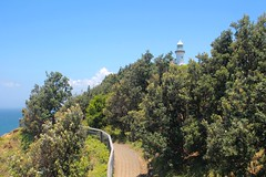 The Trail Below Cape Byron Lighthouse (Piedmont Fossil) Tags: lighthouse path australia trail capebyron