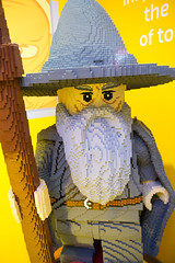 Gandalf at Lego Store in Manhattan (Joel Bischoff) Tags: newyork toy lego gandalf lordoftherings