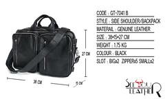 กระเป๋าหนังแท้ กระเป๋าสะพายข้าง (1)
