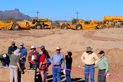 20160131 Sunset Road Archeological Dig - Heavy Equipment and Sombrero Peak (lasertrimman) Tags: road sunset peak equipment sombrero heavyequipment heavy dig archeological sombreropeak archeologicaldig sunsetroad 20160131
