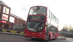 London General WVL210 on route 118 Morden station 03/02/16. (Ledlon89) Tags: bus london buses transport londonbus tfl londonbuses centrallondon