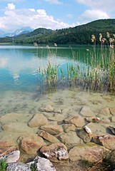 Weiensee Romantik (Liwesta) Tags: sea mountains germany landscape bayern bavaria hills weisensee