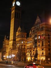 Old City Hall. (Toronto) (Leszek Wronski) Tags: city toronto night lumix outdoor cityhall panasonic citylights g7 m43 mft leica25mm14 lumixg7 panasonicg7 panasoniclumixdmcg7 panasonicdmcg7 leszekwronski lumixdmcg7