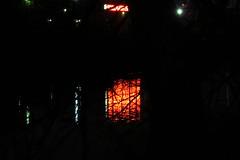 Westchester Creek, Bronx, NY (lotosleo) Tags: westchestercreek bronx ny newyork creek night black window outdoor red reflection water schuylerville скайлервилл бронкс urban уэстчестеркрик favorite