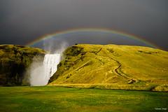 Skogafoss, Iceland [2000x1300][OC] (tommyadey) Tags: geotagged iceland south skogar reddit ifttt mattsappletvss 1307kmtoskogarinsouthiceland geo:lat=63529487 geo:lon=19512900