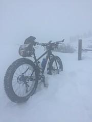 Winthrop wa snow biking (Doug Goodenough) Tags: camping winter vacation bike bicycle trek washington nw meetup jan 5 winthrop fat spokes january valley cycle pedals 16 farley methow 2016 snowlike fatbike fatbiking drg531pfarley drg53116 drg53116p
