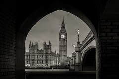 London Sights (ColmK15) Tags: old city bridge england blackandwhite bw irish building brick london tower clock lamp thames sepia architecture clouds contrast canon river photography big twilight cityscape photographer time ben famous dramatic landmark frame drama iconic within 600d