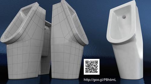 3D Model of Urinal