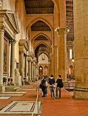 A2412FLOc (preacher43) Tags: santa italy building church architecture florence basilica firenze croce