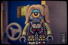 Unconventional beauty (Priovit70) Tags: door girlfriend lego space alien minifig inlove airlock spacediner olympuspenepl7
