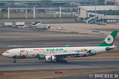 "Fukuoka Airport 2016.1.17 (30) B-16332 / BR's A330-300 painted ""HELLO KITTY"" (APPLE) (double-h) Tags: apple airplane hellokitty a330   fuk  evaairways  fukuokaairport a330300  rjff  specialpainting  b16332 eos7dmarkii ef100400mmf4556lisiiusm accinfukuoka"
