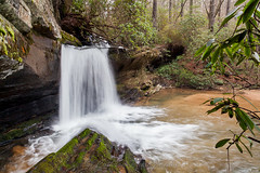 Raper Creek Falls (John Cothron) Tags: longexposure winter usa mountain cold nature water rock digital creek forest river georgia landscape us waterfall moss stream cloudy outdoor unitedstatesofamerica scenic overcast falling environment flowing thesouth dixie ze cpl protected freshwater diffuse afternoonlight clarkesville americansouth southernregion circularpolarizingfilter chattahoocheeoconeenationalforest habershamcounty 35mmformat johncothron canoneos5dmkii distagont2821 southatlanticstates rapercreekfalls rapercreek cothronphotography zeissdistagont21mm28ze rapermountain johncothron img12410160220