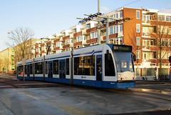 GVBA tram 2051 Amsterdam Hortusbrug (Arthur-A) Tags: netherlands amsterdam nederland tram streetcar tramway strassenbahn electrico tranvia gvb combino tramvia gvba