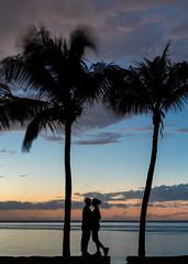 Caribbean Love (Rafael Gonzalez V.) Tags: sunset sky love beach clouds palms atardecer twilight sundown gente dusk venezuela boyfriends palmeras margarita romantic crepusculo ocaso ven anochecer novios nightfall caribbeansea nuevaesparta juangriego edonuevaesparta diefreunde