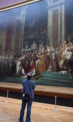 Le sacre de l'empereur Louvre Paris (katia.louis) Tags: david louvre tableau napolon grandiose