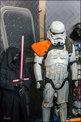 Salon collector  Migennes 89 (GK Sens-Yonne) Tags: fiction film starwars salon cosplayer bd bourgogne collector cin darkvador yonne guerredestoiles migennes migennescollector salonmigennes