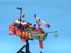 Ramona 01 (JPascal) Tags: boat flying lego