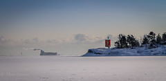 Into the white (Mika Laitinen) Tags: ocean blue winter sea sky sun white seascape cold ice nature clouds suomi finland landscape island helsinki frost ship cargo shore isle winterscape vuosaari uusimaa uutela ef24105mmf4l canon7d