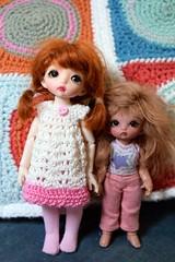 BJD Love (Chassy Cat) Tags: tan lolly wig tiny bonnie bjd resin ruby dolly sherbet fairyland puki multihead pukipuki sherbetlollydolly