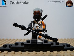 Deathstroke (Random_Panda) Tags: comics book dc comic lego fig books figure arrow minifig minifigs figures figs assassin minifigure minifigures deathstroke