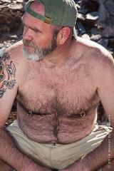 IMG_1103 (DesertHeatImages) Tags: bear gay shirtless hairy phoenix furry desert masculine cap lgbt dreamy draw
