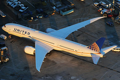 Untited Airlines Boeing 787-9 Dreamliner N26952 (Mark Harris photography) Tags: ca plane canon us aircraft aviation lax spotting