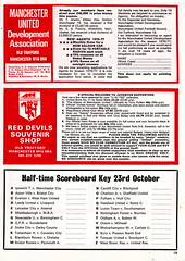 Manchester United vs Norwich City - 1976 - Page 19 (The Sky Strikers) Tags: old city red manchester one football official united devils norwich division trafford league programme