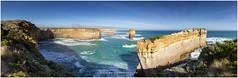 Great Ocean Road Panorama, Australia (CvK Photography) Tags: autumn panorama holiday seascape color fall canon coast nationalpark au australia victoria greatoceanroad portcampbell australi