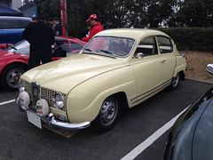 tamttd16065b (tanayan) Tags: apple car japan museum club cg automobile toyota   aichi saab 96 iphone ttd nagakute   cgclub