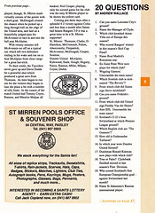 St Mirren vs Dundee United - 1990 - Page 9 (The Sky Strikers) Tags: street love st magazine official dundee united scottish match premier league bq mirren