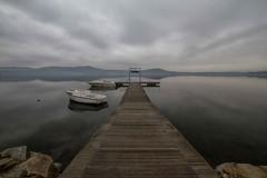 il tempo si è fermato qui 2 (mat56.) Tags: panorama lake water reflections landscape boats lago landscapes atmosphere barche piemonte antonio acqua biella riflessi paesaggi atmosfera paesaggio pontile viverone mat56 romei