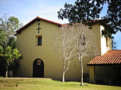 Mission San Fernando Rey de Espaa. (France-) Tags: usa building architecture la sanfernando difice croix californie edifice spanishmission 359 etatsunis missionhills