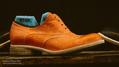 Andrew McDonald shoemakers (Colum O'Dwyer) Tags: art leather fashion shoes artistic handmade sydney documentary craft workplace shooting custom artisan shoemaker colum stylish skill bespoke colcum columodwyer