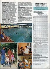 Pontins Brochure 1982 - Middleton Tower (trainsandstuff) Tags: vintage 1982 retro 1980s pontins holidaycamp holidaybrochure middletontower summerbrochure