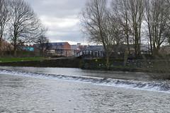 Weir and Bridge (lcfcian1) Tags: bridge trees water river canal leicestershire leicester union grand soar weir grandunioncanal belgrave riversoar weirandbridge