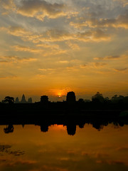 Sunrise in Angkor Wat