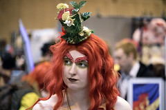 Poison Ivy (itsbradders) Tags: red woman canon hair is birmingham comic cosplay vibrant ivy fantasy batman stm poison pamela villain comicon efs nec f456 55250mm canonefs55250mmf456isstm