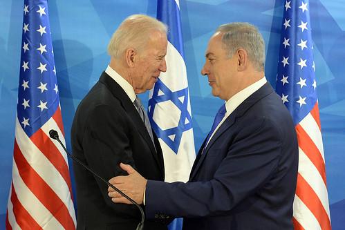 Joe Biden and bff Netanyahu, From FlickrPhotos