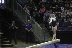 Allie Northey beam (10) (Susaluda) Tags: uw sports gold washington university purple huskies gymnastics dawgs
