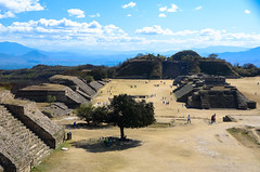Monte Alban (c h r i s t o s) Tags: mountain mexico ancient ruins pyramid culture historic mexican step oaxaca civilisation zapotec