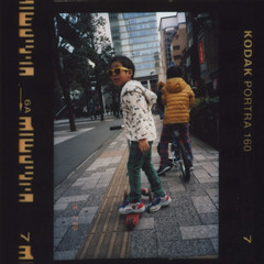 insta081 (sudoTakeshi) Tags: film bicycle japan kids children tokyo kodak akihabara konica contactsheet filmcamera akiba portra kickboard  kodakfilm   contactprint kodakportra konicabigmini   kodakportra160     konicabm301