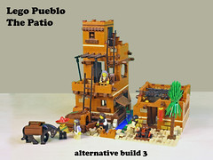 Lego Pueblo A4 (giorgio.chronas) Tags: arizona verde america mexico lego native pueblo western taos ideas acoma mesa zuni