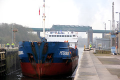 Petersburg (North Ports) Tags: port manchester canal ship group petersburg locks peel salford ports irlam mmsi atlancticgateway 304293000