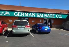 The Green Weenie hauls sausage! (listorama) Tags: arizona usa phoenix car store joke humor sienna sausage toyota nonsense minvan greenweenie germansausagecompany