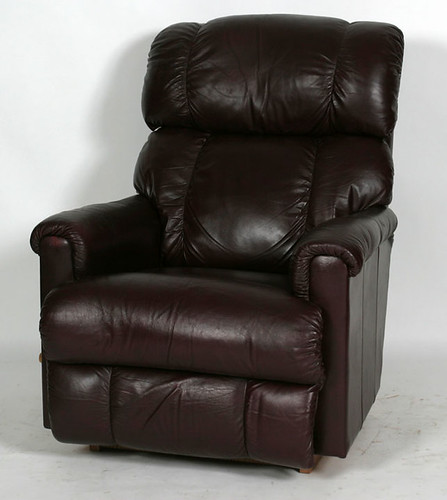 Lazy Boy Leather Recliner - $275.00 (Sold February 5, 2016 @ Green Valley Auctions