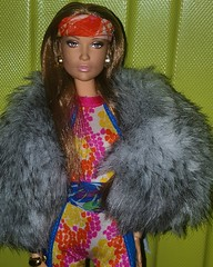 Still Jenny From The Block (ferociousfierce) Tags: red fab face fashion scarf print fur carpet high model doll top bronx jennifer supermodel barbie super dancer move muse made vogue singer actress earrings mold bandana lopez mtm jlo basics royalty catsuit collector jumpsuit sculpt ghettofab modelmuse madetomove topodel