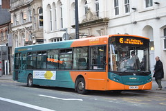 Cardiff Bus 716 CN04NRX (Will Swain) Tags: county city uk travel west bus buses wales britain south centre country transport cymru cardiff 2nd vehicles april vehicle 2016 716 cn04nrx