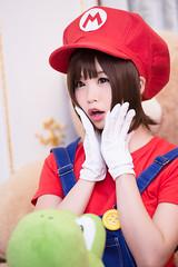 P75_007 (ms09Dom) Tags: cosplay コスプレ マリオ 五木あきら itsukiakira studioazure